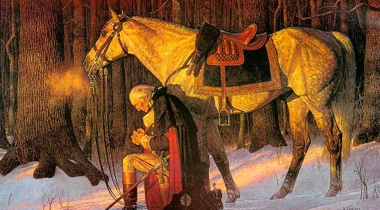 George Washington Prayed too!